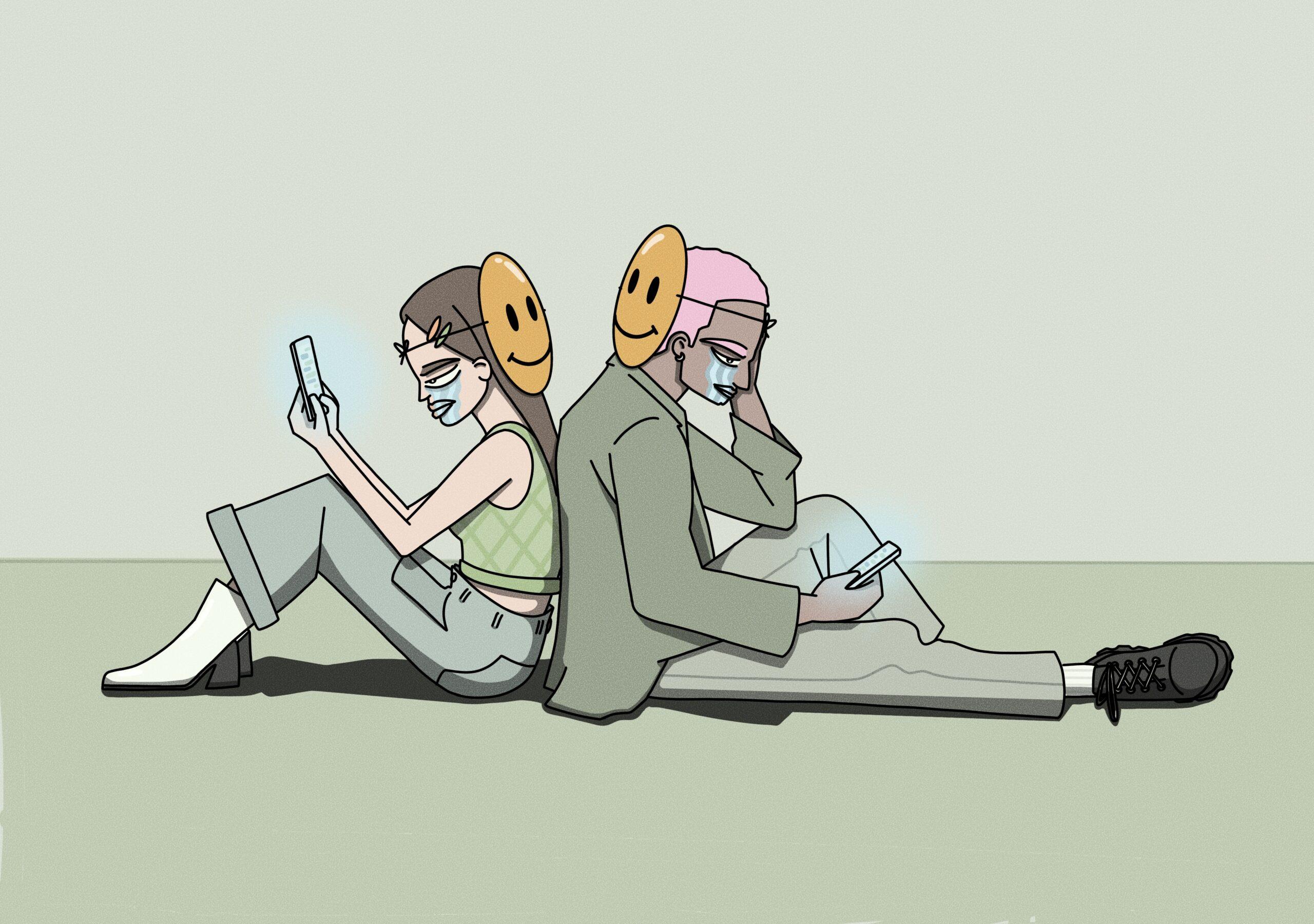 Illustration Kommunikation